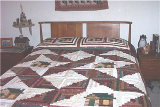 Kentucky Log Cabin Quilt | Lillian's Cupboard : easy log cabin quilt - Adamdwight.com