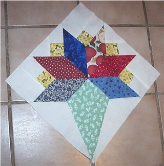 Best-Loved Quilt sewing pattern /& templates Bride/'s Bouquet ~ Quilts /& Block