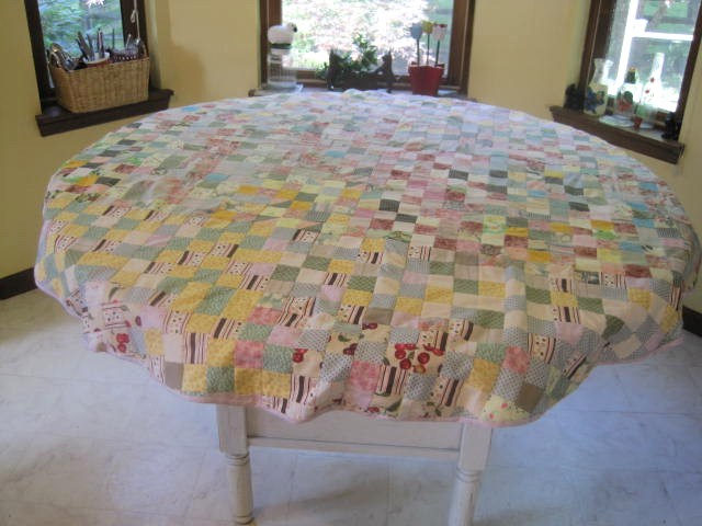 Perfect Round Patchwork Tablecloth