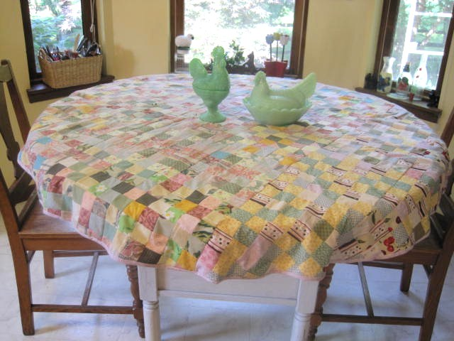 Round Patchwork Tablecloth · The ...