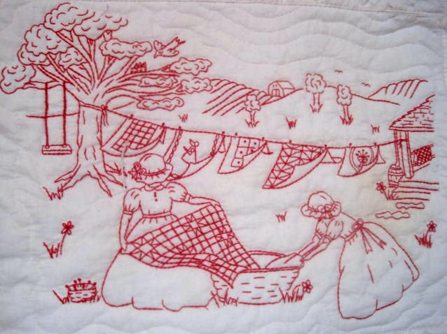 Quilting Redwork Designs : Embroidery Redwork Embroidery on Pinterest Sunbonnet Sue, Embroidery Patterns and Embroidery ...