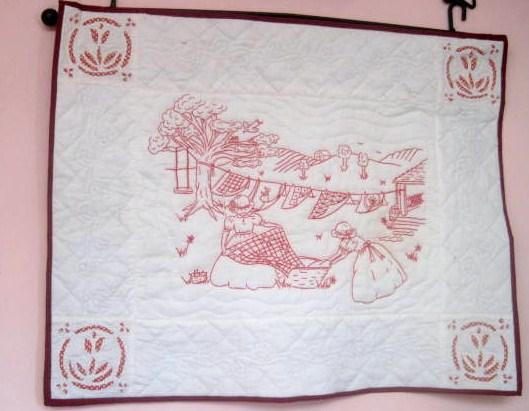 Redwork Embroidery Lillian S Cupboard
