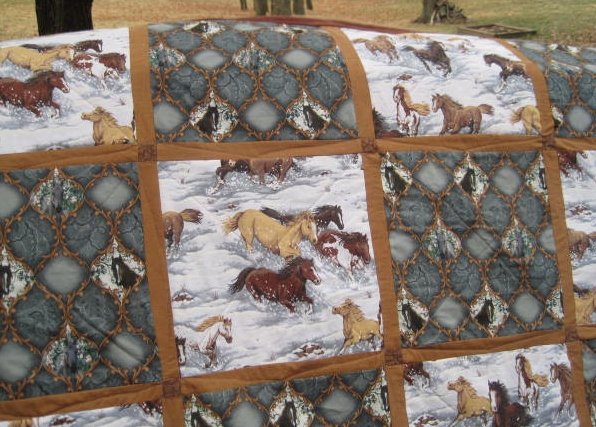 art up favequilts id square saddle quilt com horse quilts patterns