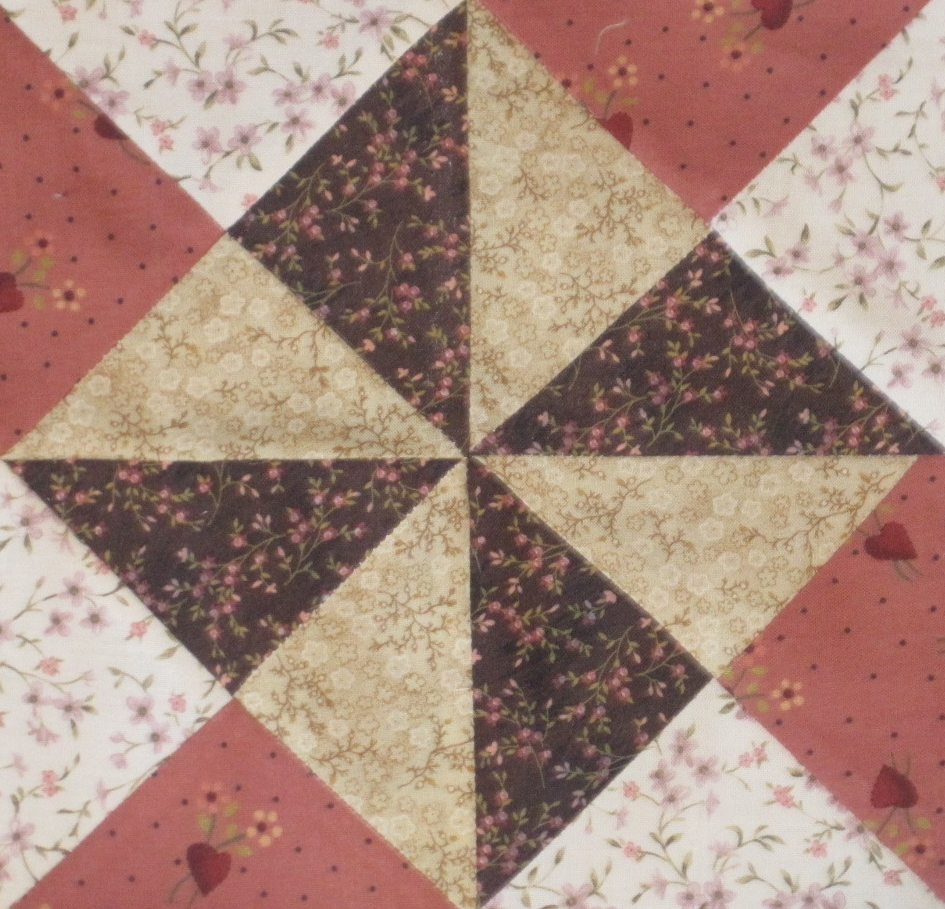 Civil War Quilt – Block 49 – Yankee Puzzle | Lillian's Cupboard : civil war quilt blocks - Adamdwight.com