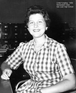 Linda 1959 Newsp Class