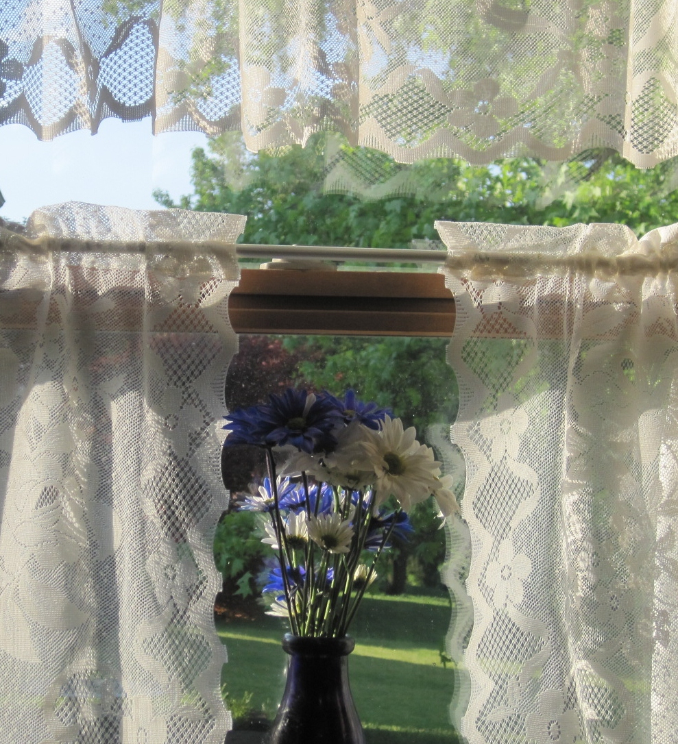 old lace curtains images