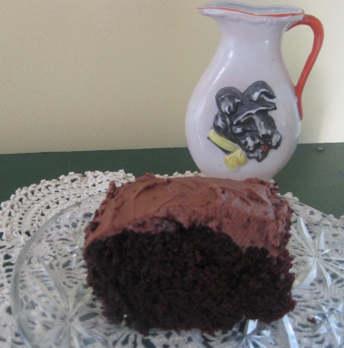 Mayonnaise Chocolate Cake – a 1940s Recipe | Lillian's Cupboard