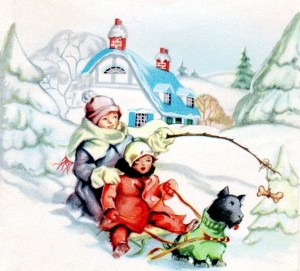 scottie kids sled