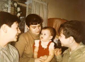 My four kids - 1970