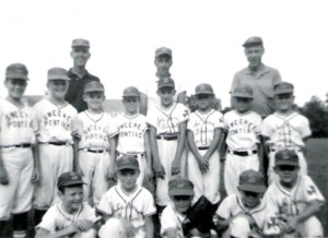 1965 Sweeney team - Frank is in the second row, second from right hand side