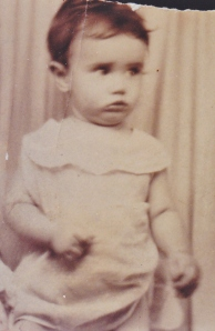 Lillian at age one - 1933