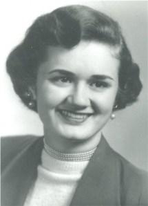 Lillian at age 21 - 1953