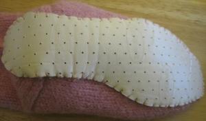 socksoles-sewn