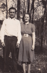 My parents - 1940