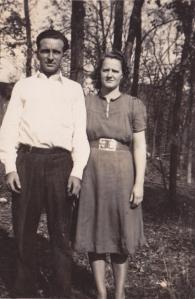 My parents - 1940