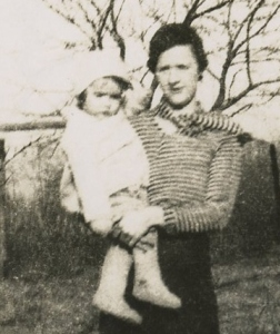 Mother and Lillian, 1933
