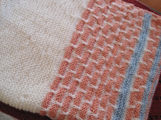 Knitting A Good Free And Easy Slip Stitch Pattern Lillians