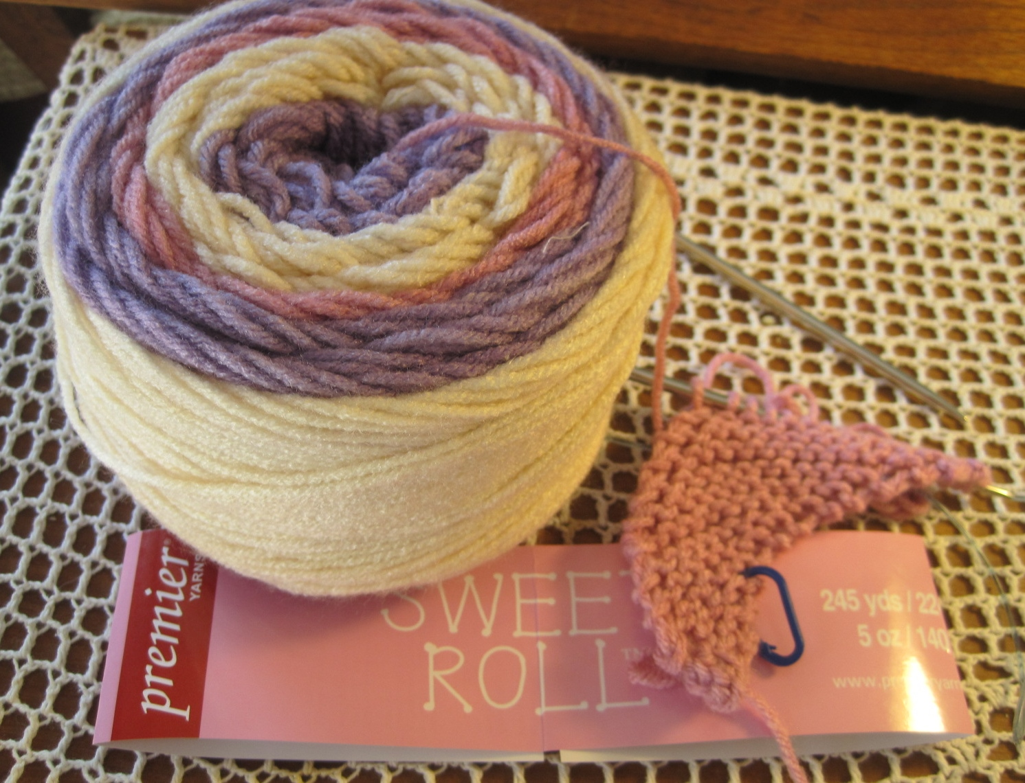 Boom A Long Diagonal Scarf Free Knitting Pattern Lillian S