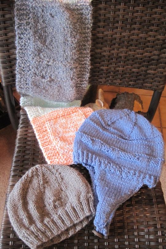 Charity Knitting Lillians Cupboard